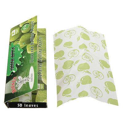 DIY Hornet Peppermint Flavored Cigarette Rolling Papers 50 Leaves Glue