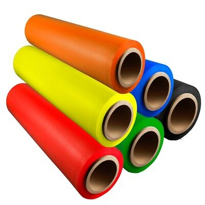 Hand Stretch Wrap Shrink Film Choose Your Color, Roll, Size + Free Hand Saver