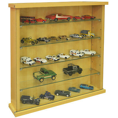 Display Cabinet With Four Glass Shelves Beech 3327oc