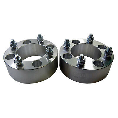 Pair - 2 inch ATV 4x115 Wheel Spacers Arctic Cat Textron Wildcat Prowler Yamaha