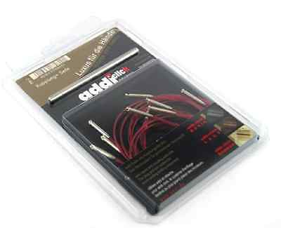 addi click LACE Set of 5 red cords and 1 connector