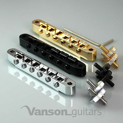 NEW Vanson ABR1 Saddle / Bridge for Gibson Les Paul SG ES Dot Gretsch® guitars