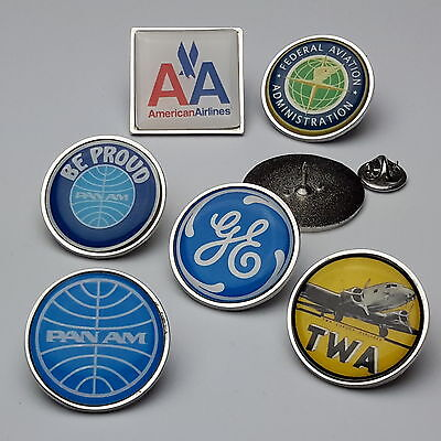 AMERICAN / US AIRLINES - Pin Badge Collection / Tie Pins - You Choose!