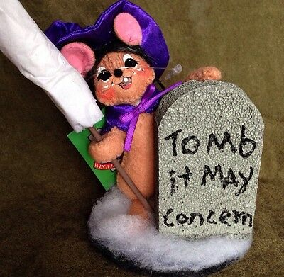"""Annalee 5"""" Graveyard Witch Mouse NWT"""