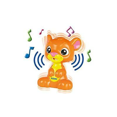 Tomy T72031 Peek A Boo Lion Cub Baby Electronic Toy Game Music Sounds Orange New