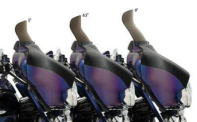 Memphis Shades Spoiler Windshield for 1996-2013 Harley Electra Street Glide FLH