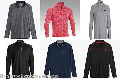 *New* Under Armour Men's UA Tech 1/4 Zip Novelty Long Sleeved Training Sport Top