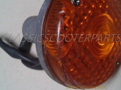 Kawasaki 1981 LTD400 front cracked lens signal blinker k81-ltd400-079