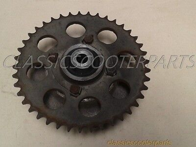 Kawasaki 1981 LTD400 rear drive sprocket cush dive flange k81-ltd400-056