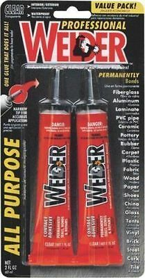 New Homax 730657 Welder Pk (2) All Purpose Contact Glue Adhesive Sale 0417378