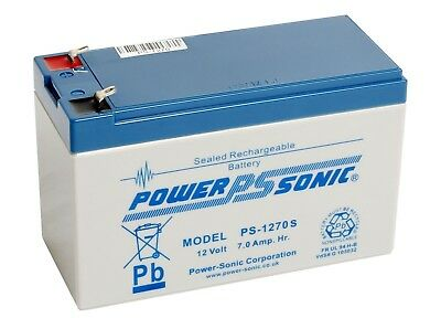 12V 7.0Ah SLA battery Powersonic PS-1270 ST