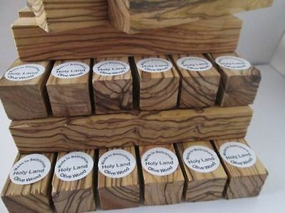 10 ~Premium Quality~Bethlehem Olive Wood Pen Turning Blanks. Highly Figured