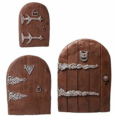Fiddlehead Fairy Door Elves Gateway Magic Fairies Handmade Doors
