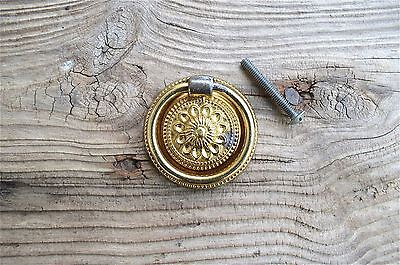 Round Antique Style Ring Pull Furniture Handle Repacement Mh4