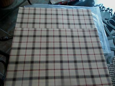 Longaberger Reversible PLACEMATS - Set of 2 - SIGNATURE PLAID - NEW!! - Orig $30