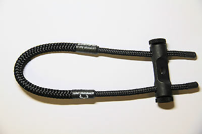 Loc Outdoorz Dlx Wrist Sling Black!!!! Ultimate Bow Sling!!!!