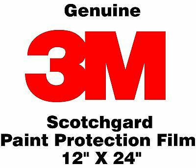 Genuine 3M Scotchgard Paint Protection Film Clear Bra Bulk Roll Film 12'' x 24""
