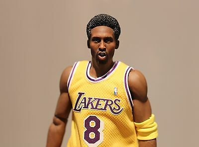 Custom ! kobe bryant 3.0 Join fit enterbay Afro hair HEAD ONLY crazy 8  instock