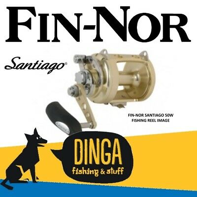 Fin-Nor Santiago SA50W Overhead Game Fishing Reel