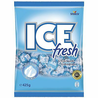2 x Storck ICE FRESH Candies = 850grams  **Made in Germany** BEST PRICE
