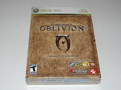 The Elder Scrolls IV OBLIVION COLLECTORS EDITION XBOX 360 NEW FACTORY SEALED BOX