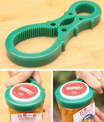New Lid Twist Container Flexible Tool Multi Rubber Handy Opener Jars Bottle Can