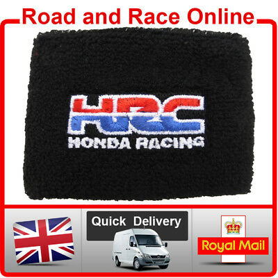 Honda HRC Rear Brake / Clutch Reservoir Sock Cover Embroidered Cotton SMALL