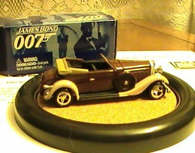 James Bond 007 JL Johnny Lightning LE Draxs Hispano Suiza Car #1 Moonraker VHTF