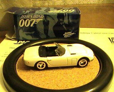 James Bond 007 JL Johnny Lightning LE Aki's Toyota 2000GT Conv Car #2 Y.O.L.T.