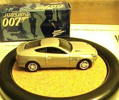 James Bond 007 JL Johnny Lightning LE Aston Martin V12 Vanquish Car #5 D. A. D.