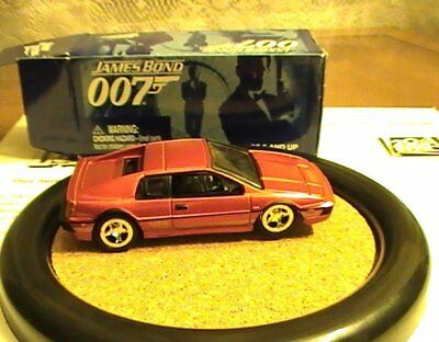 James Bond 007 JL Johnny Lightning LE Bronze Lotus Esprit Turbo Car #4 F.Y.E.O.