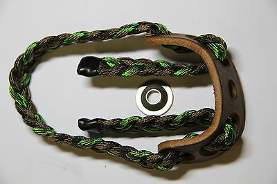 Paradox Adjustable Archery Bow Sling ELITE  COOL SPRING CAMO BRAIDED