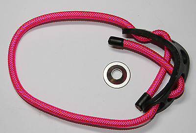 Paradox Adjustable Archery Bow Sling  SOLID NEON PINK SPIRAL