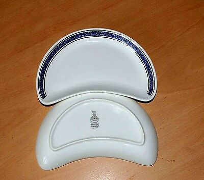 Five Royal Doulton side salad plates for British Airways