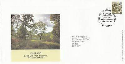 (34309) GB England FDC 42p Pictorial - London 5 April 2005