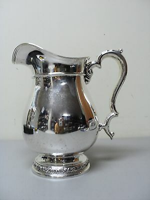 "Vintage International '""prelude"" Sterling Silver Water Pitcher"
