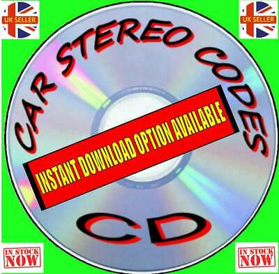 Car Audio/Radio Stereo Code Recovery Software Unlock/Recover Program Solution Cd