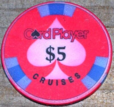 $5 Gaming Chip From Card Player Casino Cruises Lines