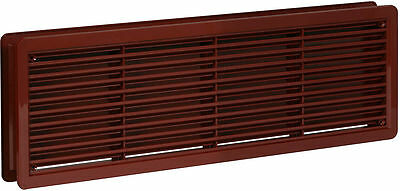 "High Quality Door Air Vent Grilles Two Sided ""BROWN"" Ventilation Grill Cover"