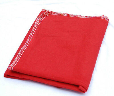12 new red  fender cover seat protector auto mechanic flannel 28'' x 60''