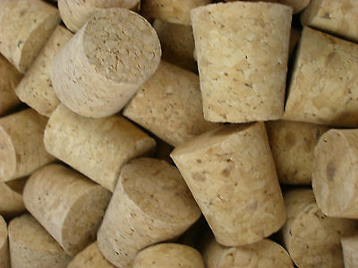1 x Tapered Cork Bung Stopper Bottle size 24