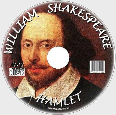 Hamlet William Shakespeare Classic Audiobook Mp3 Cd English Educational New