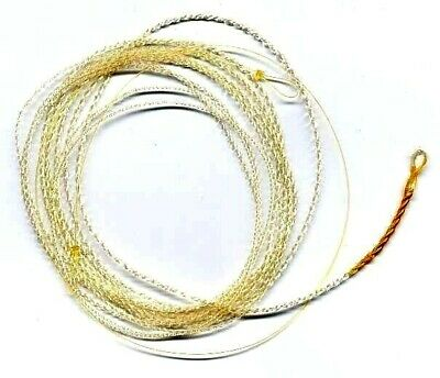 Wonderfurl Crystal Ivory Furled Fly Fishing Leader - Pick size and length