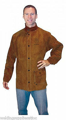 Tillman 3830 Medium Dark Brown Leather Welding Jacket (3830M)