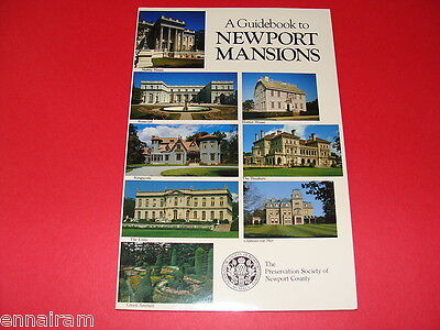 Guidebook to Newport Rhode Island Mansions Breakers, Rosecliff, Marble House etc