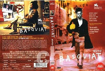 Basquiat (1996) - Julian Schnabel, Jeffrey Wright, Michael Wincott   DVD NEW
