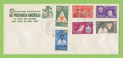 Togo 1961 Boy Scout Anniversary set on illustrated First Day Cover
