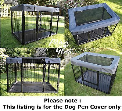 New Cover Only for Heavy Duty Dog Pen Cage Crate Puppy Whelping Enclosure