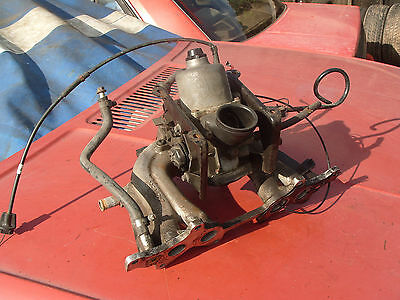 rover metro carburettor and manifold