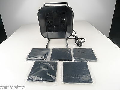 5 Filters FUME SMOKE ABSORBER EXTRACTOR FAN for Spray Booth Tan tanning Solution